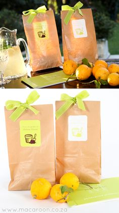 'From The Garden of...' - Use your homegrown fruits, herbs and vegetables as nourishing gifts! Insert into brown paper bags and adorn with colourful ribbon and Macaroon's personalised Craft stickers http://www.macaroon.co/macaroon/content/en/macaroon/stickers-craft-stickers