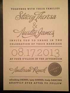 combined fonts   Wedding Invite Layout