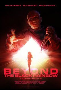 """""""Beyond the Black Rainbow""""  Despite being under heavy sedation, Elena tries to make her way out of Arboria, a secluded, quasi-futuristic commune."""