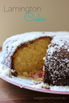 Happy Australia Day! Our Lamington Cake is a a super easy version of a lamington to whip up for dessert tonight