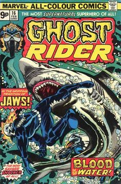 Cover for Ghost Rider (Marvel, 1973 series) #16 February 1976