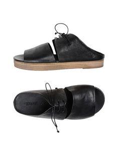 MARSÈLL Sandals. #marsèll #shoes #サンダル