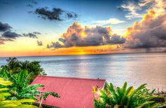 St Lucia Sunset by KFraze86, via Flickr Nice!
