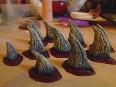 set of 10 Zabrak horns Darth Maul by MonsterMinxfx on Etsy, £20.00