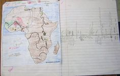 Maps in Interactive Notebooks | Teaching Social Studies and Language Arts  would work well for exploration!