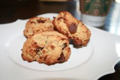 Chocolate Chip Scones (Coconut Flour)  (she says they are a little dry, I'm going to increase the coconut oil, and the honey.  Xylitol tends to hold moisture, that might work also)