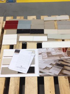 #juliantile post Cersaie product selection day
