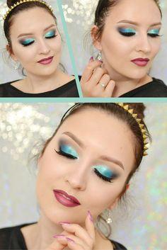 #makeup #makeuptutorial #agatawelpa #inglot #zoeva #polishgirl #turquoise #bluemakeup #hollidaymakeup