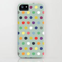 petite multi spot iPhone & iPod Case #sharonturner #society6 #iPhone #case