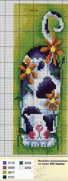 Вышивка крестиком - схемы для вышивания - Котики