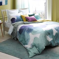 Bluebellgray Canna Bed Linen | Houseology