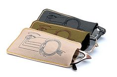 Anatomy Of An Eye Glass Case - bags & cases