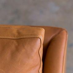 Detail of Tan Leather Louis sofa designed for us by CM studio Tan Leather Sofas, Brown Leather, Sofa Design, Furniture Design, Corporate Interiors, Fabric Sofa, Commercial Interiors, Leather Design, Soft Furnishings