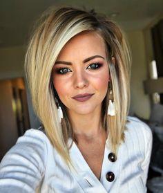 Trending Hairstyles 2019 - Cute Medium Length Hairstyles - EveSteps