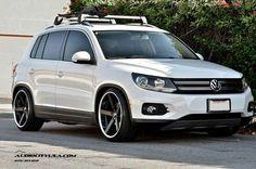 Volkswagen Tiguan custom wheels Giovanna Mecca ET , tire size x ET Vw Tiguan 2016, Tiguan Vw, Vw Passat, Custom Wheels, Custom Cars, Bora Tuning, Tiguan R Line, Convertible, High Performance Cars