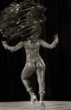 samba queen. Mulata do Gois