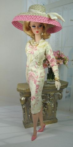 Miss Coquelicot for Silkstone Barbie and Victoire Roux on Etsy now