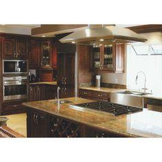 "Century Home Living 35"" x 6"" Kitchen Base Cabinet Finish: Chocolate"