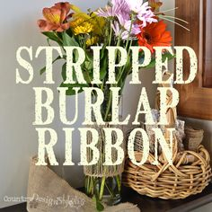 stripped-burlap-ribbon-country-design-style-thumb countrydesignstyl...
