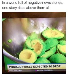 All this guacamole going on in the media right now and nobody is talking about this - Imgur
