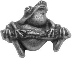 "Hickory Hardware PA1511-VP Rainforest Frog Knob | 1.25"" L 