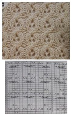Lacy triple eyelet cable