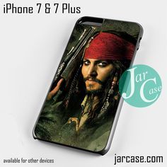jack sparrow pirates of the caribbean 10 Phone case for iPhone 7 and 7 Plus