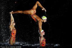 Australian synchronized swimming team