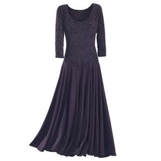 I think this is actually very pretty for the Holidays - Baroque Purple Prose Dress -