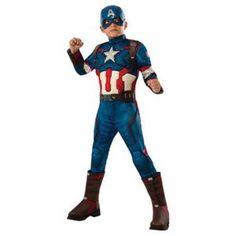 Κάπτεν Αμέρικα στολή Lux Captain US για αγόρια