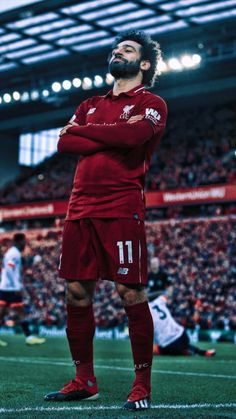 Mohamed Salah is now Liverpool record goal scorer in the first 100 games for the… - Football Liverpool Team, Camisa Liverpool, Liverpool Champions League, Liverpool Fc Wallpaper, Liverpool Wallpapers, Mohamed Salah Liverpool, Neymar Football, Pogba, Roman