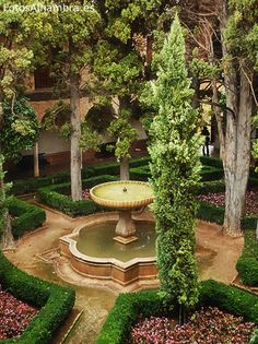 Jardines de Lindaraja en la Alhambra
