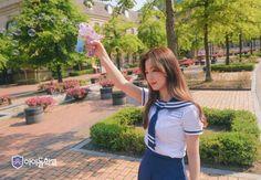 Idol school chaeyoung Kanken Backpack, Korea, Backpacks, Bags, Idol, School, Fashion, Handbags, Moda