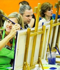 a painting class or two