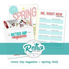 Retro Hip Magazine - Spring 2018 - Issue 1    #craftymagazine #magazineonline #retrohipmama