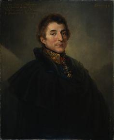 Field Marshal Arthur Wellesley, KG, GCB, 1st Duke of Wellington (c)1820 by Peter Edward Stroehling (1768-1826).