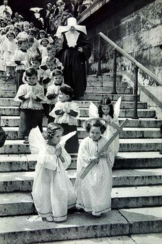artemisdreaming: Paris 1955 Henri Cartier-Bresson Artemis: Look at the first boy on the steps. Something tells me he must have been in trouble a lot. LOL The Penguins had a hard time with me. :D