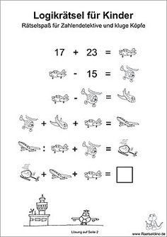 Logik Rätsel für Kinder