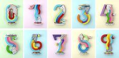 YOROKOBU Numbers on Behance