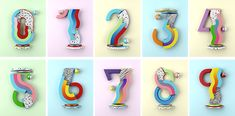 YOROKOBU Numbers on Behance