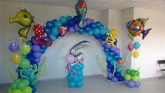 globos decoración sirenita - Buscar con Google