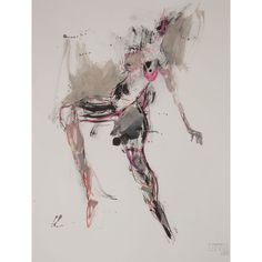 NEW PAINTING - figure abstract art