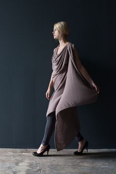 NFP Snap/Wrap Tunic Dress and Body Suit: #N10B + #P9 http://nfpstudio.com