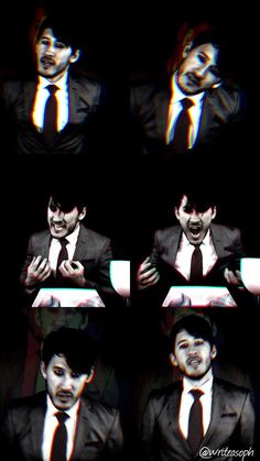 "(Open. Be Darkiplier?) I backed away from you. Things had grown darker and darker so quickly. One minute, we were a happy couple, next moment... you were a demon... or worse. Your maniacal face haunted me to my very core. You kept getting closer to me. I was like a cornered animal. ""What are you going to do to me?"" I gasp."