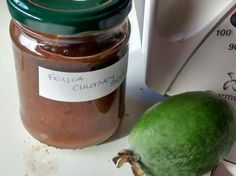 FEIJOA CHUTNEY by emckayz1@gmail.com. A Thermomix ® recipe in the category Sauces, dips & spreads on www.recipecommunity.com.au, the Thermomix ® Community. Fruit Ice Cream, Bread & Butter Pickles, Chutney Recipes, Healthy Dishes, Recipe Using, Vegan Vegetarian, Food To Make, Dessert Recipes, Desserts