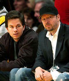 Mark & Donnie Wahlberg... OMG amazing. Their both hot, but Donnie's still my fav!!!