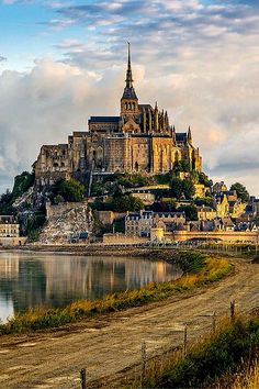 Le Mont St. Michel in Normandy, France.