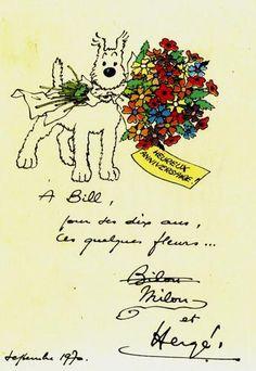 Les Aventures de Tintin :: Les hommages de Hergé