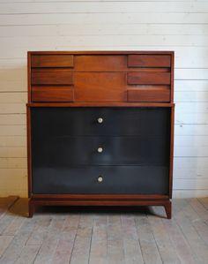 Mid Century Modern Highboy Dresser | Phylum Furniture