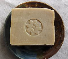 Olive Oil Neem Soap - Unscented Soap - Gentle Soap. $5.50, via Etsy.